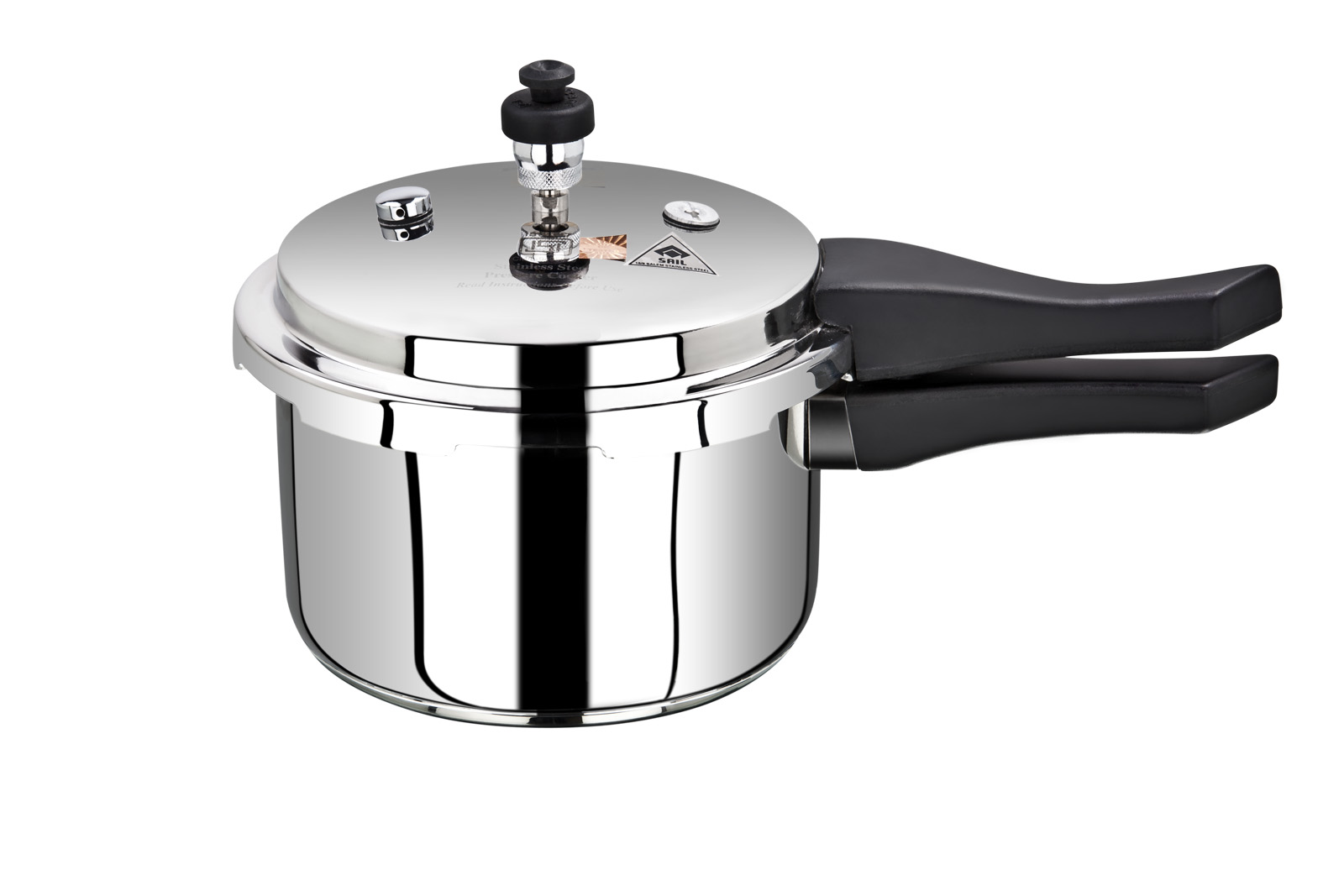 stainless steel pressure cookers pritam international. Black Bedroom Furniture Sets. Home Design Ideas